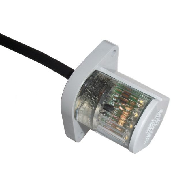 Betts Clear, LED, License Lamp w/4' 2- conductor Cable Lead