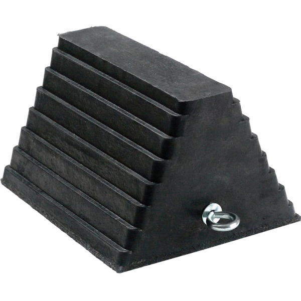 Rubber Wheel Chock With Handle